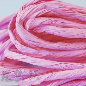Paper ribbon, 4 metres, long Pink, (ZTT031)